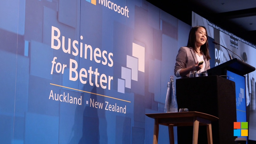 image-Business for Better Microsoft 2020 Highlights reel