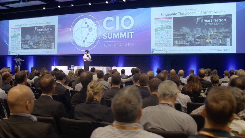 image-CIO Summit conference highlights video