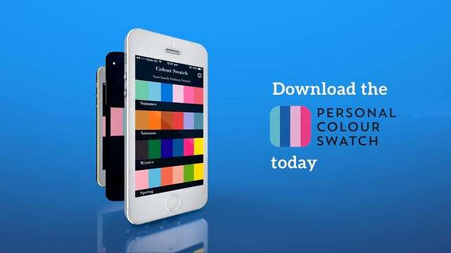 image-Holley Banks Personal Colour Swatch app Infographic